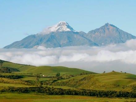 Vulkaanide avenüü Ecuadoris